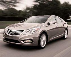 Цены на Hyundai Grandeur 2012 в России
