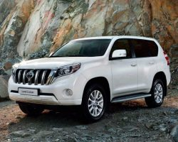 Обновленный Toyota Land Cruiser Prado 150 2015–2016 в России (цена, фото)