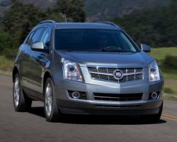 Обновленный кроссовер Cadillac SRX 2014 в России