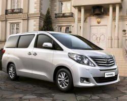 Toyota Alphard 2012: цена, фото, характеристики