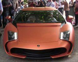 Купе Lamborghini 5-95 Zagato (фото, видео)