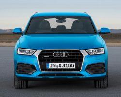 Рестайлинговые Audi Q3 и RS Q3 2015 в России