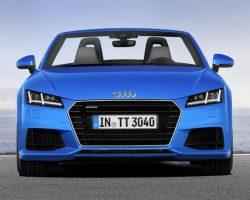 Рассекречен новый Audi TT Roadster 2015
