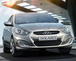 Цены на седан и хетчбэк Hyundai Solaris в 2013 году