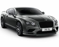 Новый Bentley Continental Supersports 2017 – 2018 (цена, фото)