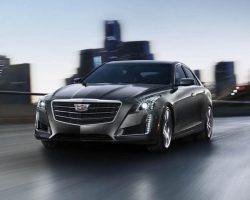 Рестайлинговый Cadillac CTS 2015 года