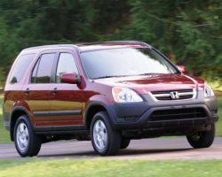 Honda CR-V отзывают из-за опасности воспламенения