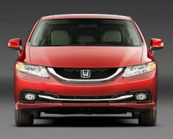 Honda Civic 2013 для США