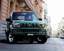 Новый Suzuki Jimny 2013: цена, фото, характеристики
