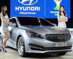 Подробности о новом седане Hyundai AG 2015