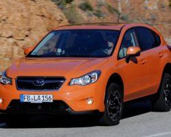 Обновленный Subaru XV 2014 в России