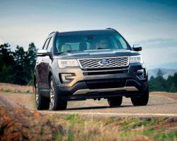 Новый Ford Explorer Рестайлинг 2016 в России (цена, фото)