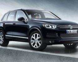 Volkswagen Touareg Edition X добрался до России